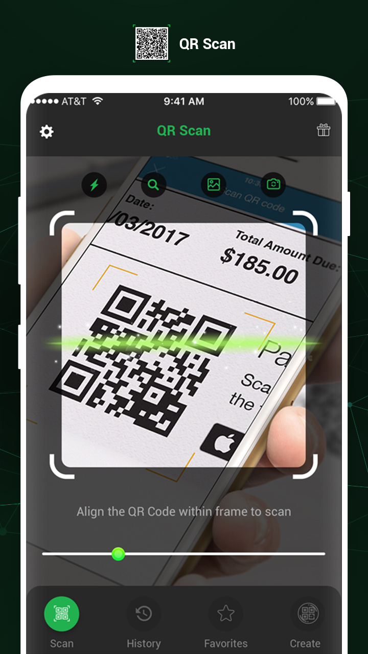 QR Code Scanner Feature
